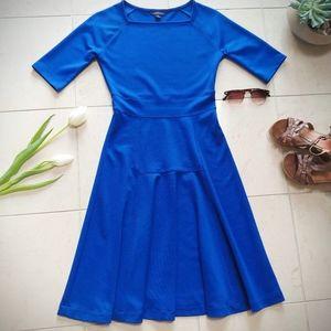 Dresses & Skirts - 👗Royal Blue A-line Dress Square Neck Modest